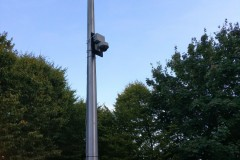 Temporary CCTV Installation